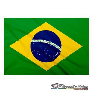 Bandiera Brasile realizzata in poliestere leggero