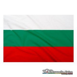 Bandiera Bulgaria realizzata in poliestere leggero