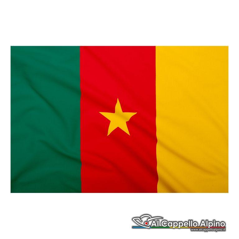 Bandiera Camerun realizzata in poliestere leggero