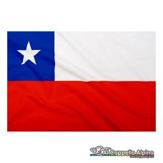 Bandiera Cile realizzata in poliestere leggero