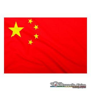 Bandiera Cina realizzata in poliestere leggero