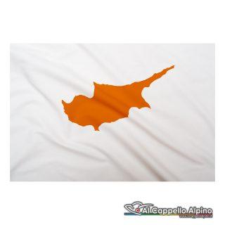 Bandiera Cipro realizzata in poliestere leggero