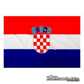 Bandiera Croazia realizzata in poliestere leggero