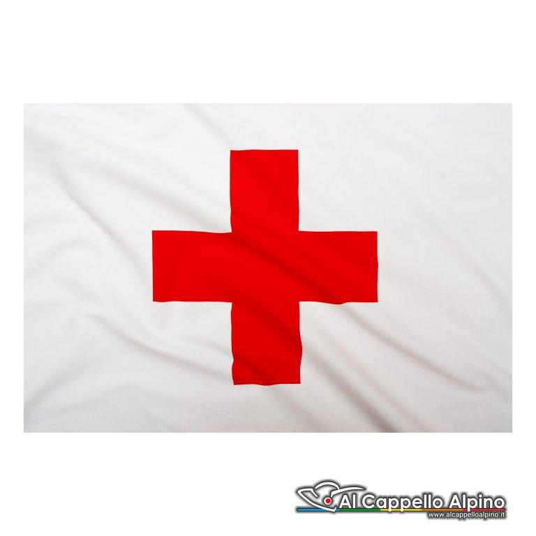 Bandiera Croce Rossa In Poliestere Leggero