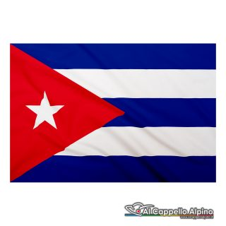 Bandiera Cuba realizzata in poliestere leggero