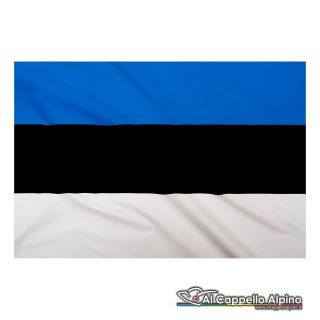 Bandiera Estonia realizzata in poliestere leggero