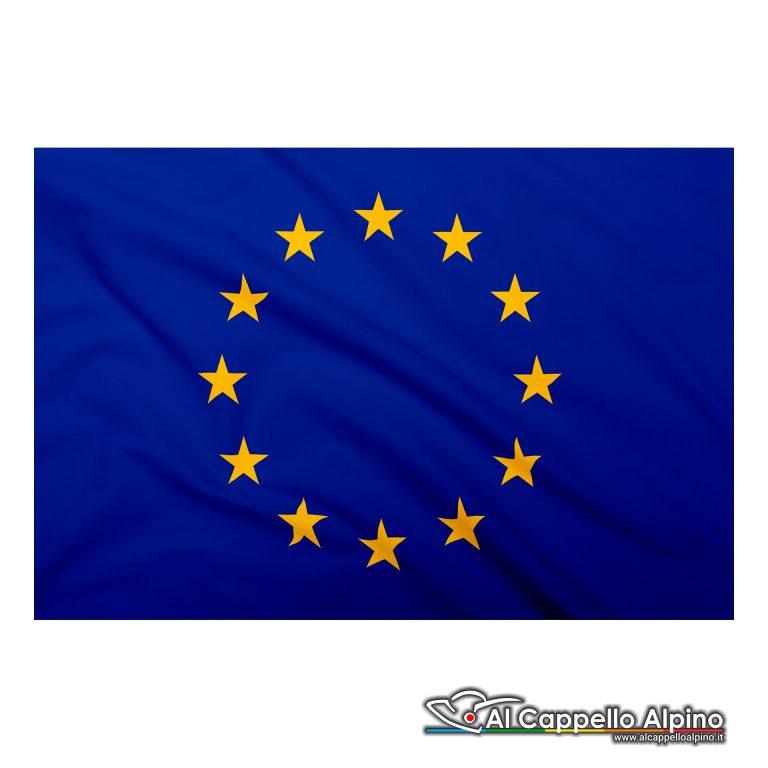 Bandiera Europa realizzata in poliestere leggero
