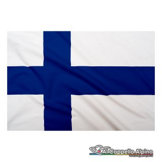 Bandiera Finlandia realizzata in poliestere leggero