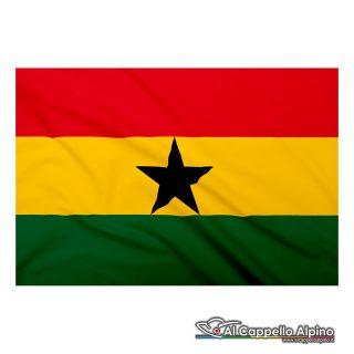 Bandiera Ghana realizzata in poliestere leggero
