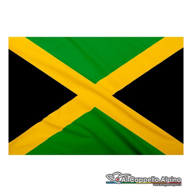 Bandiera Giamaica realizzata in poliestere leggero