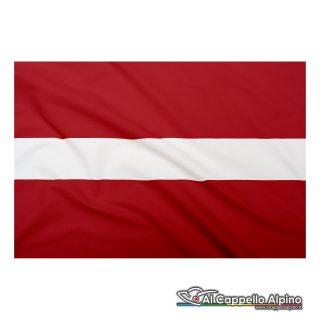 Bandiera Lettonia realizzata in poliestere leggero