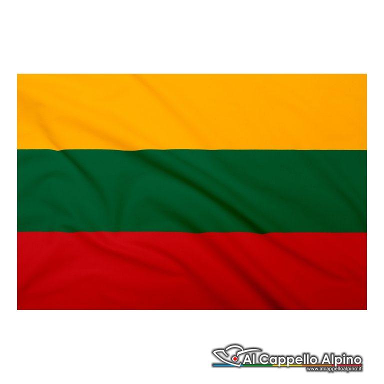 Bandiera Lituania realizzata in poliestere leggero