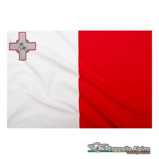 Bandiera Malta realizzata in poliestere leggero
