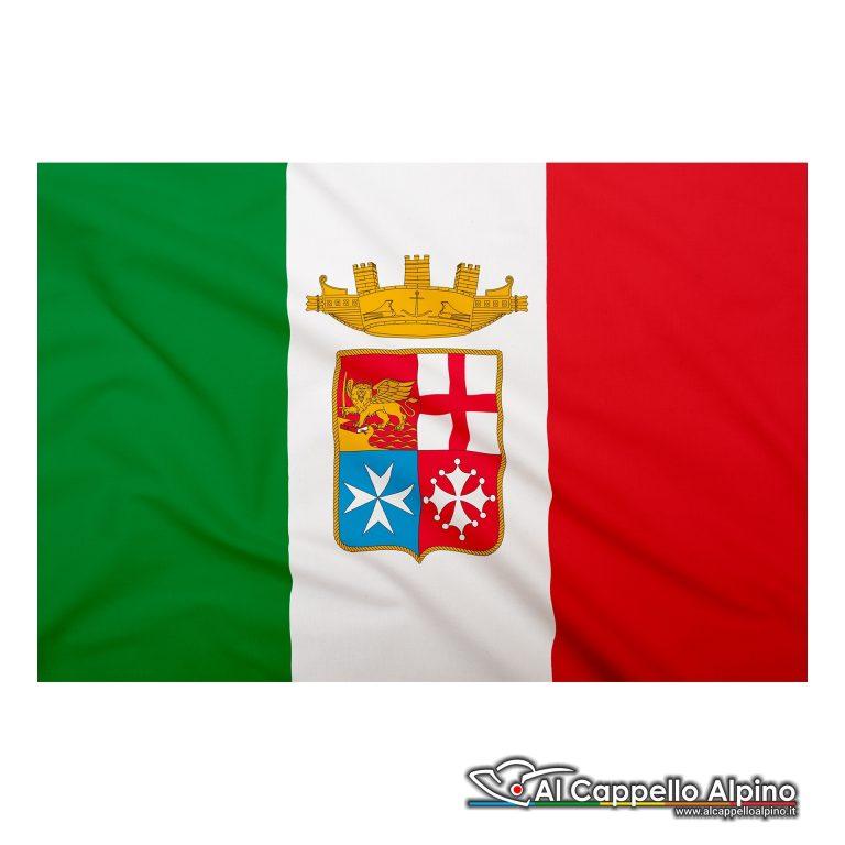 Bandiera Marina Militare Italiana In Poliestere Leggero