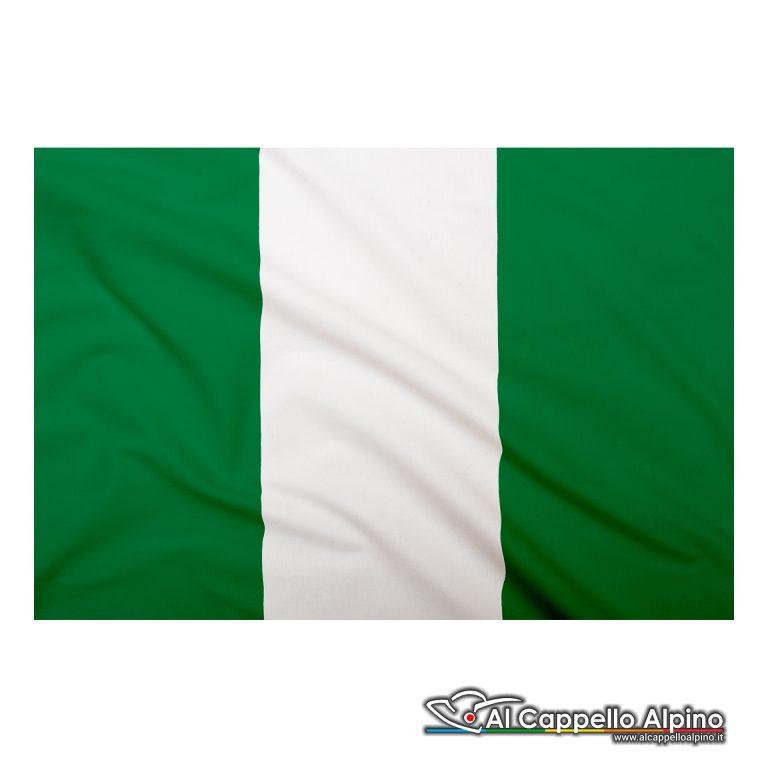 Bandiera Nigeria realizzata in poliestere leggero