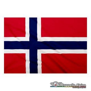 Bandiera Norvegia realizzata in poliestere leggero