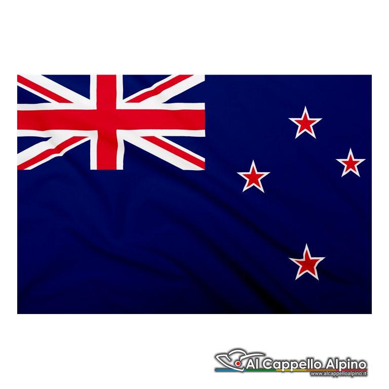 Bandiera Nuova Zelanda In Poliestere Leggero