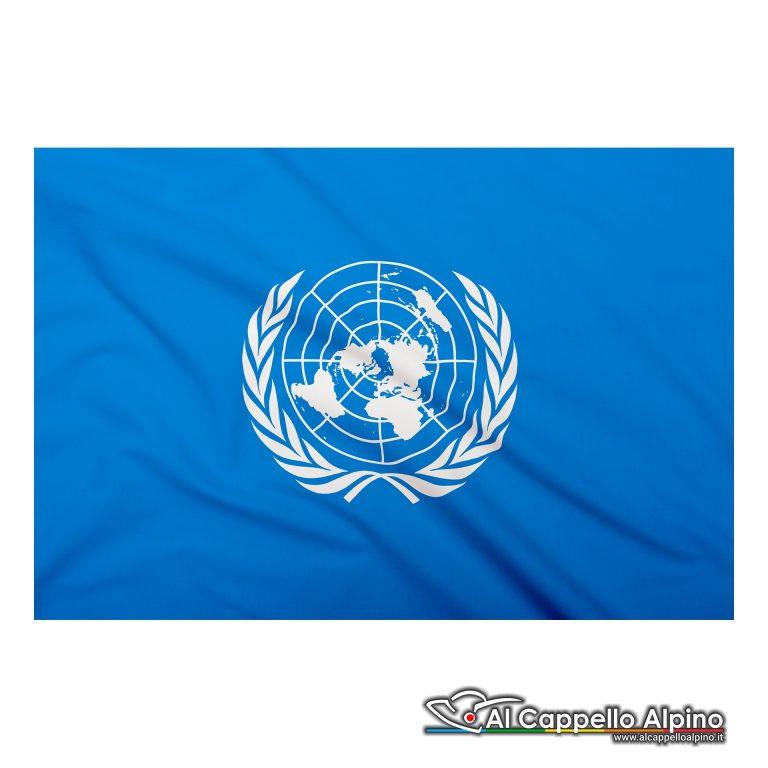 Bandiera ONU realizzata in poliestere leggero