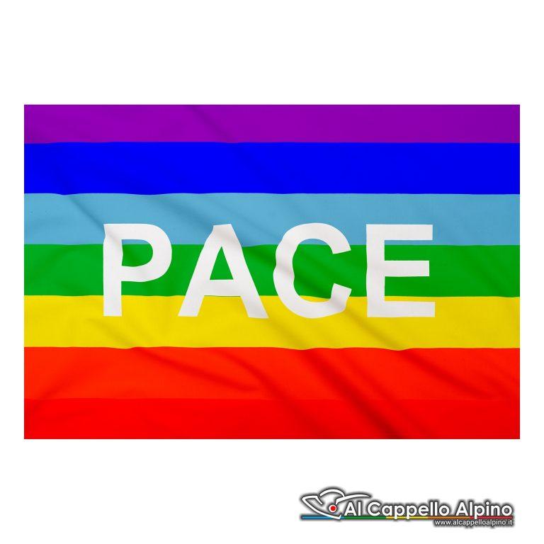 Bandiera Pace realizzata in poliestere leggero
