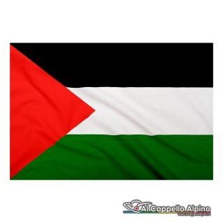 Bandiera Palestina realizzata in poliestere leggero
