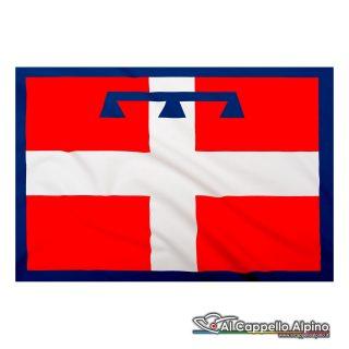 Bandiera Piemonte realizzata in poliestere leggero