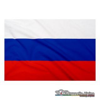 Bandiera Russia realizzata in poliestere leggero