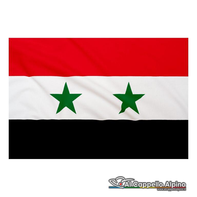 Bandiera Siria realizzata in poliestere leggero