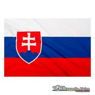 Bandiera Slovacchia realizzata in poliestere leggero