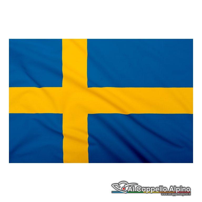Bandiera Svezia realizzata in poliestere leggero