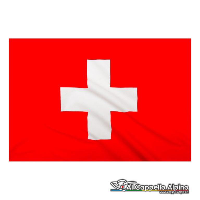 Bandiera Svizzera realizzata in poliestere leggero
