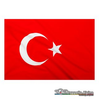 Bandiera Turchia In Poliestere Leggero