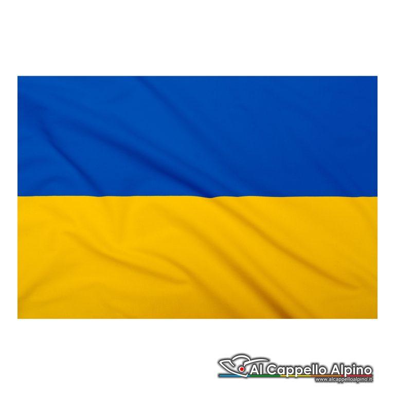 Bandiera Ucraina realizzata in poliestere leggero