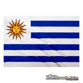Bandiera Uruguay realizzata in poliestere leggero