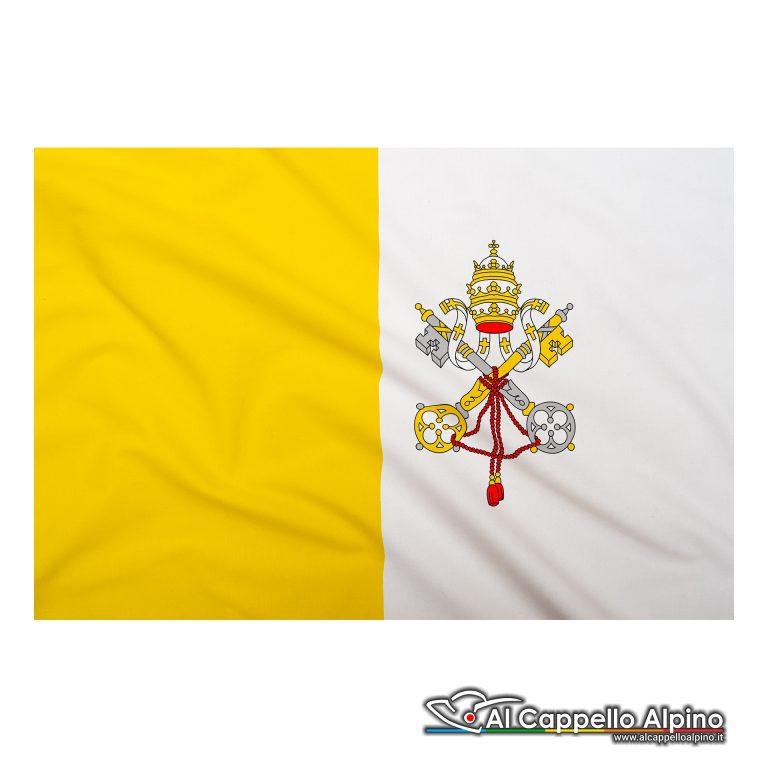 Bandiera Vaticano realizzata in poliestere leggero