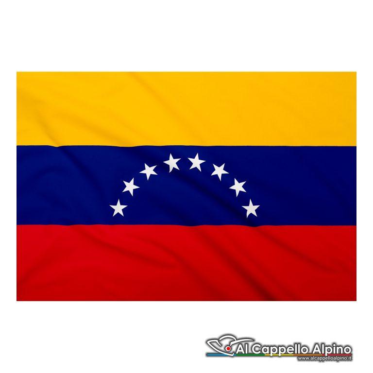 Bandiera Venezuela realizzata in poliestere leggero