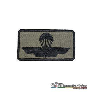 Tope0042 Patch Brevetto Paracadutista Esercito Italiano