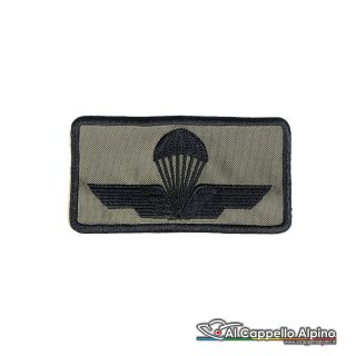 Tope0043 Patch Brevetto Paracadutista Civile