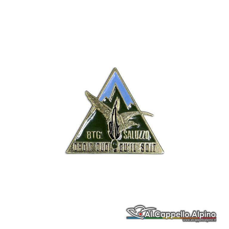 113 42 Distintivo Battaglione Alpini Saluzzo Anteguerra 1939