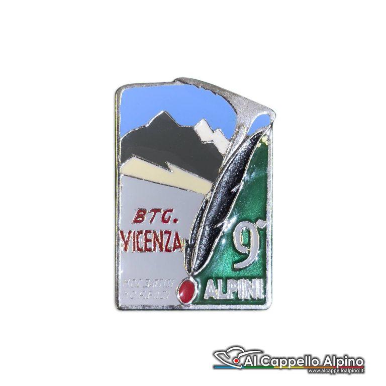 123 51 Distintivo Battaglione Alpini Vicenza Anteguerra 1940