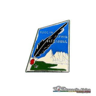45 2 Distintivo Raggruppamento Alpini Levanna Anteguerra 1940
