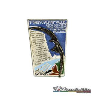 46 4 Distintivo 1 Gruppo Alpini Valle Anteguerra 1940