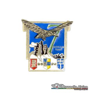 66 13 Distintivo 7 Reggimento Alpini Anteguerra 1937