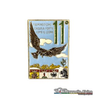 70 19 Distintivo 11 Reggimento Alpini Anteguerra 1939