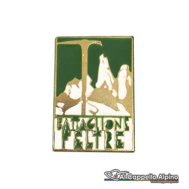 90 15 Distintivo Battaglione Alpini Feltre Anteguerra 1939