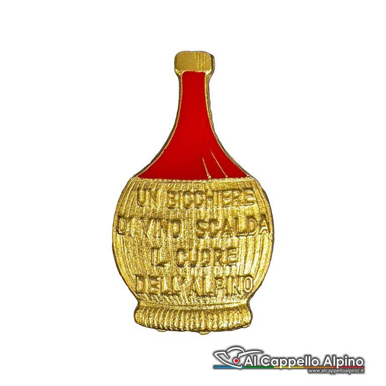 Ac0501 Distintivo Congedante Fiasco Di Vino