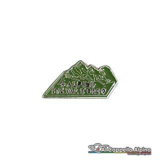 139 17 Distintivo Battaglione Alpini Val Dorco Anteguerra 1940 Gran Paradiso