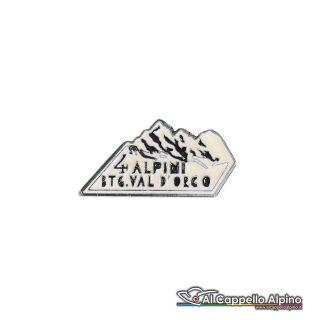 139 18 Distintivo Battaglione Alpini Val Dorco Anteguerra 1940 Gran Paradiso