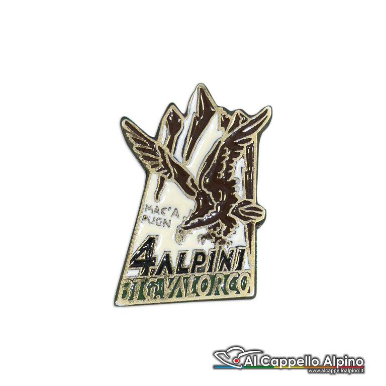 140 19 Distintivo Battaglione Alpini Val Dorco Anteguerra 1941